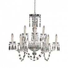 Chandeliers house of waterford light defines space and nothing shape and reflects light quite like waterford crystal evoking the height of opulence and style aloadofball Images